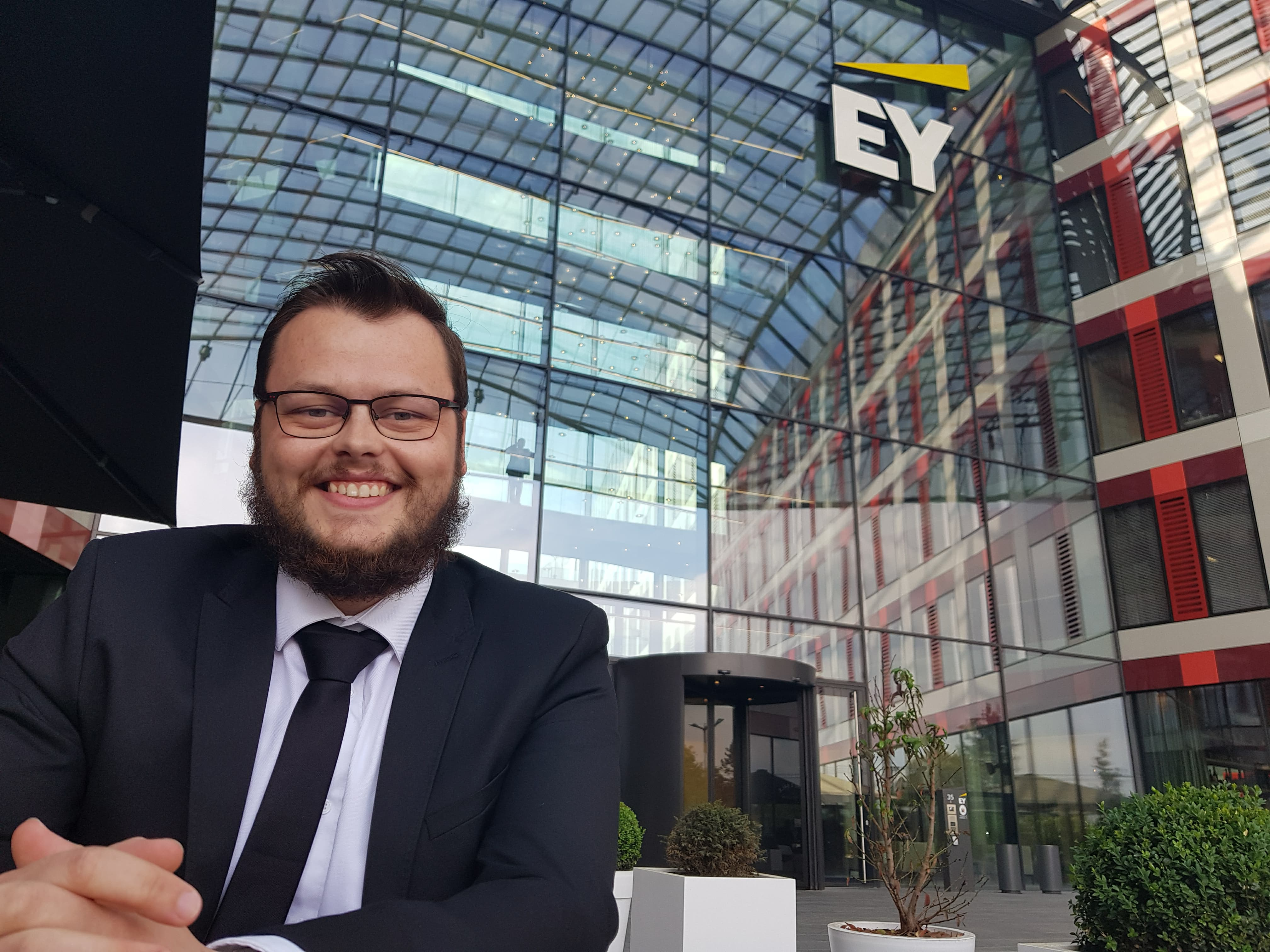 Corentin, Master CCA, en stage chez Ernst & Young au Luxembourg FI Master CCA