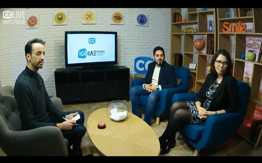 Live IGR-IAE with Campus Channel