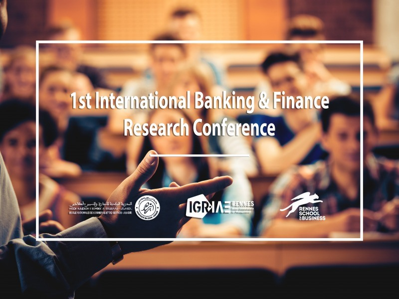 1st International Banking & Finance Research Conference (IBFRC)