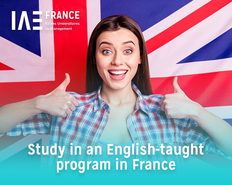 Studying in English in a French University School of Management