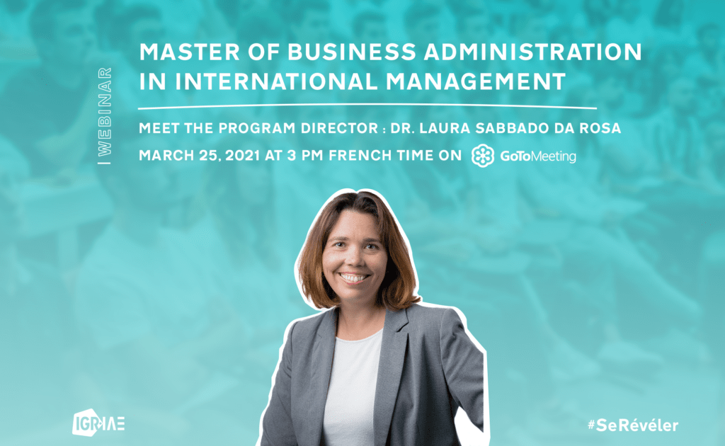 Q&A – Live webinar – Master of Business Administration in International Management