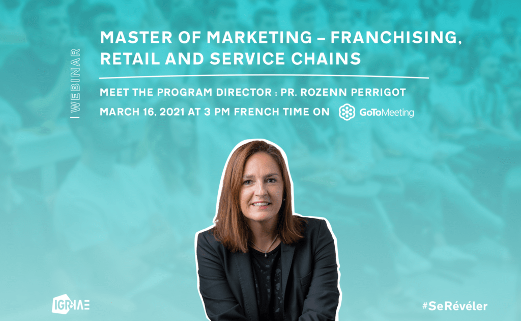 "Q&A – Live webinar- ""Master of Marketing- Franchising, Retail & Service Chains"""