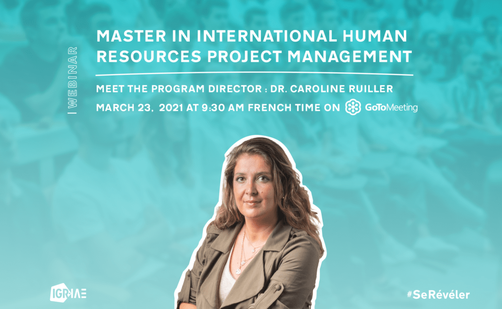 Q&A – Live webinar – Master in International Human Resources Project Management