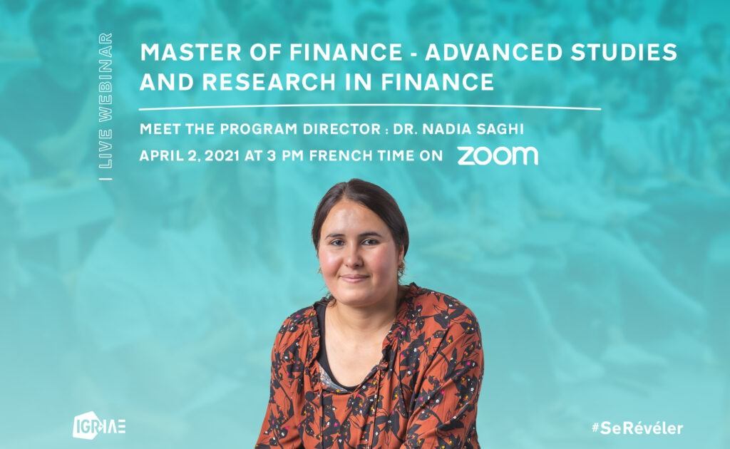Q&A – Live webinar – Master of Finance – Advanced Studies and Research in Finance