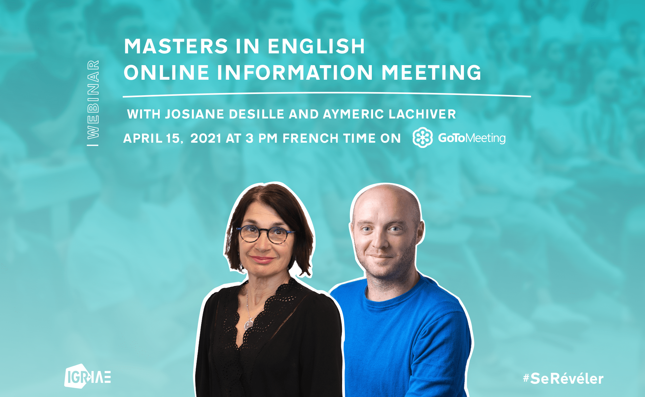 Masters in English – Online information meeting