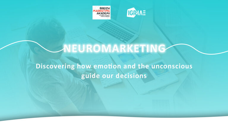 Pr. Olivier Droulers, on neuromarketing at the Breizh Marketing Academy