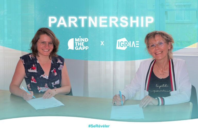 New partnership with Mind the Gapp agency, for better public speaking skills
