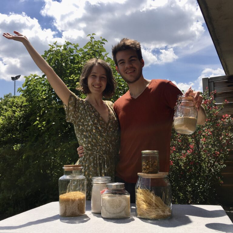 A new zero waste grocery store in Rennes by one of our graduates!