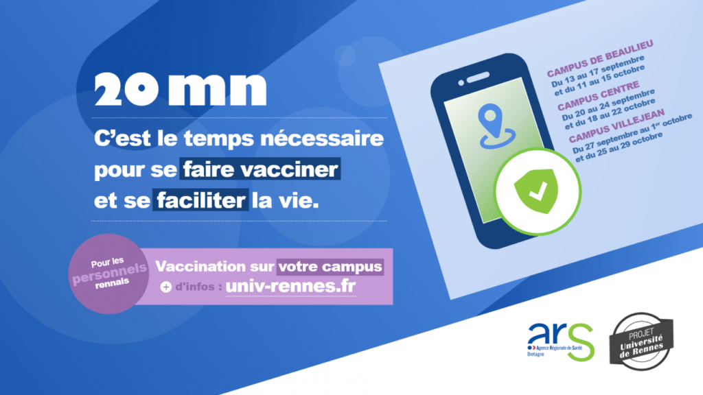 Vaccination centers on the University's campuses