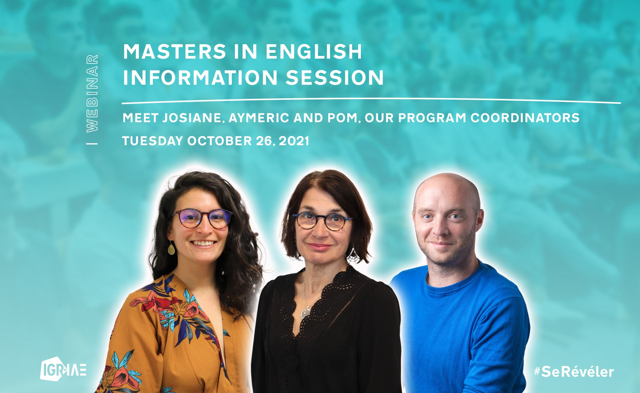 Masters in English – online information session